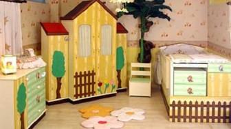 Kız Bebek Odası Modelleri