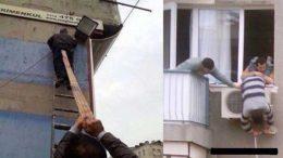 Dünyadan İş Güvenliği İle İlgili Komik Resimler
