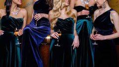Vazgeçilmeyen Bayan Kadife Elbise Modelleri