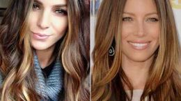 Bayan Karamel Saç Rengi Tonları