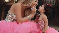 Anne Kız Şık Kombin Çeşitleri