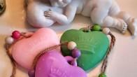 Yeni Doğan Bebeklere Hediyelik Dekoratif Sabun Modelleri