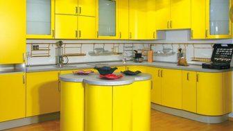 Modern Tasarımlı Mutfak Dolap Modelleri