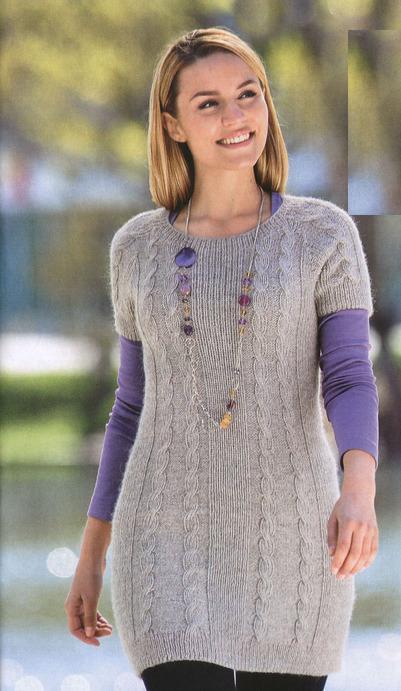 Вязаный свитер 49