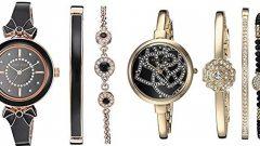 Anne Klein Bayan Saat ve Bileklik Setleri