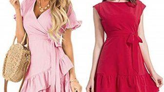 Bayan Yazlık Elbiseleri Modelleri