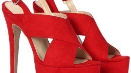 Platform Tabanlı Yüksek Topuklu Bayan Ayakkabı Modelleri