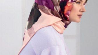 Armine İpek Eşarp Başörtüsü Modelleri
