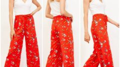Bol Kesim Yazlık Kadın Pantolon Modelleri