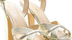Yazlık Derimod Kadın Topuklu Ayakkabı Modelleri