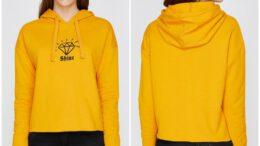 Koton Kapüşonlu Kadın Sweatshirt Modelleri