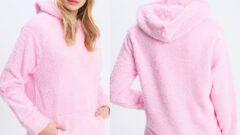 Kadın Polar Sweatshirt Modelleri