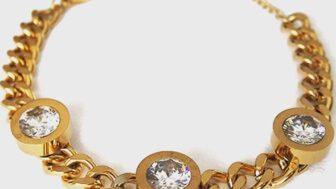 Jewel Altın Kaplama Kadın Bileklik Modelleri
