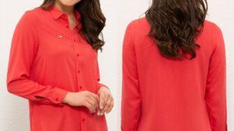 U.S. Polo Assn. Uzun Kollu Kadın Gömlek Modelleri