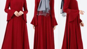 Setrems Tesettürlü Kadın Elbise Modelleri
