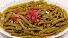 Antep Usulü Zeytinyağlı Taze Fasulye Yemeği Tarifi