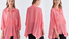 Roman Kadın Gömlek Modelleri