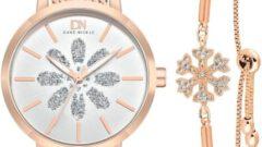 Duke Nickle Kadın Saat Bileklik Seti Modelleri