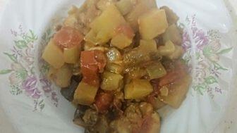 Fırında Tavuklu Patlıcan Tava Tarifi