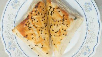 Peynirli Milföy Börek Tarifi