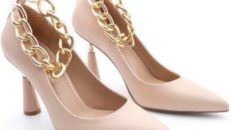 Marjin Klasik Topuklu Kadın Ayakkabı Modelleri